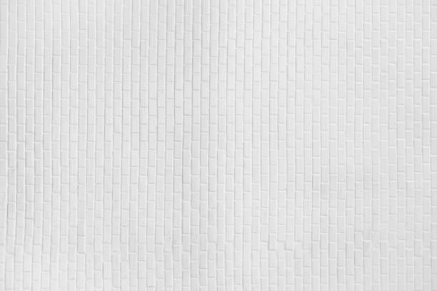 white ceramic wall background - tile stock photos and pictures