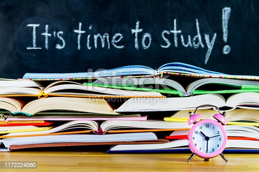 istock White chalk handwritten it is time to study 1172224050