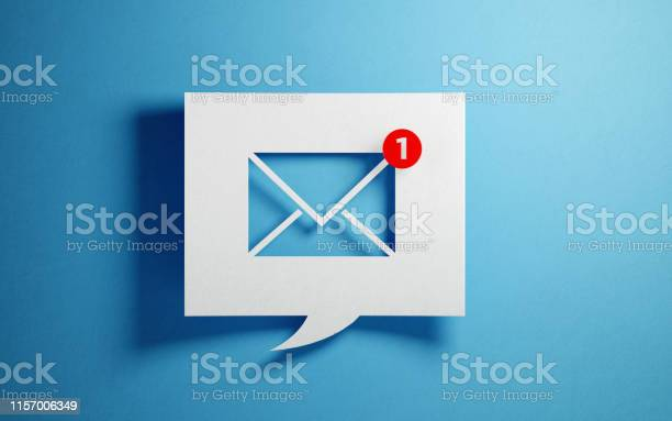 White chat bubble with email symbol on blue background picture id1157006349?b=1&k=6&m=1157006349&s=612x612&h=dlhgokqveczl4q fo58jdowu0laikrxbgdcsuqfhsry=
