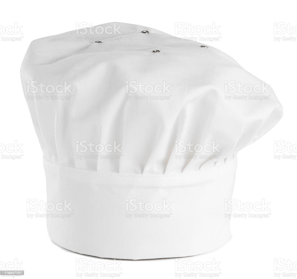 White Chefs Hat royalty-free stock photo