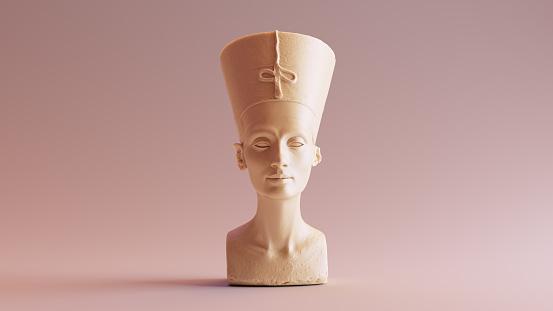 White Chocolate Bust of Nefertiti