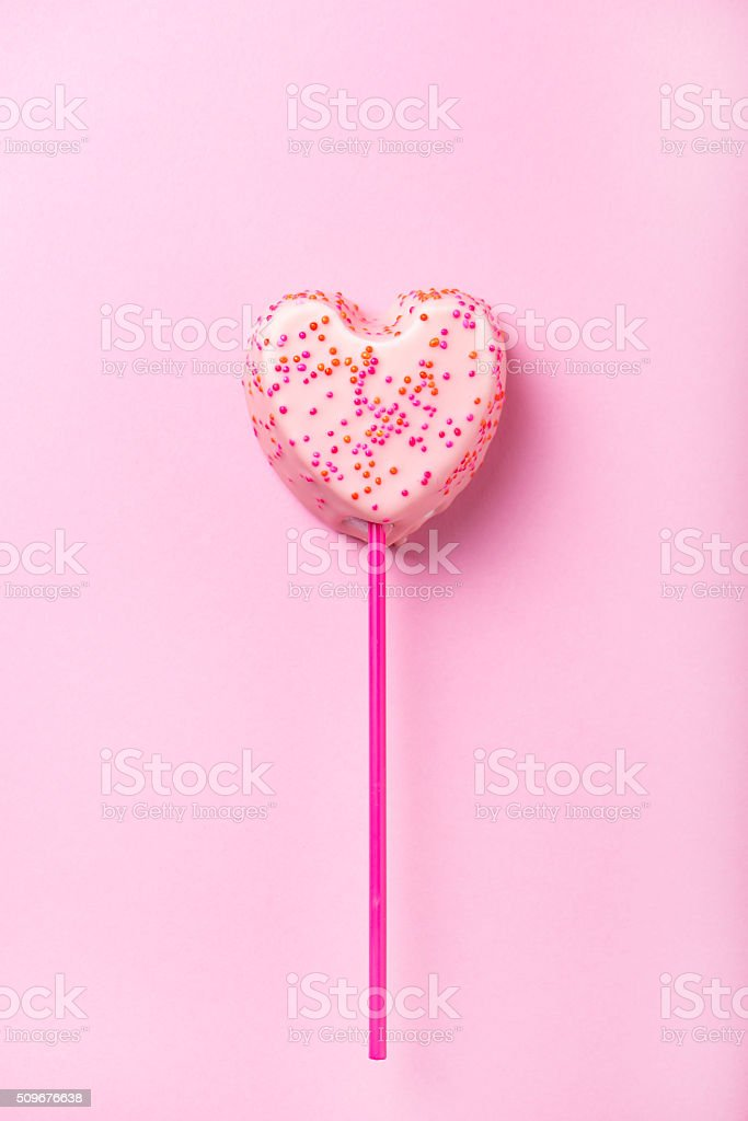 white chocolate covered marshmallow in heart shape stock photo
