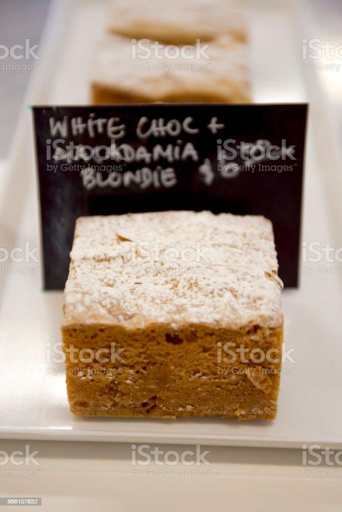 White chocolate desert - Royalty-free Australia Stock Photo