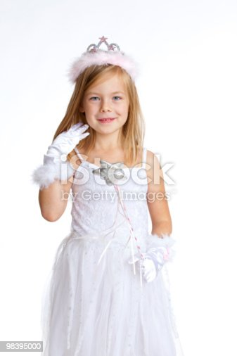 White Christmas Angel Stock Photo & More Pictures of Beautiful People