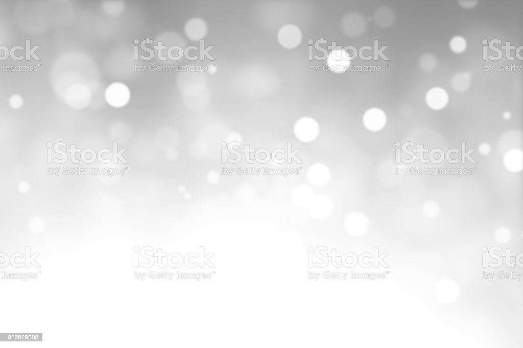 white christmas lights with snowy background picture id815629288