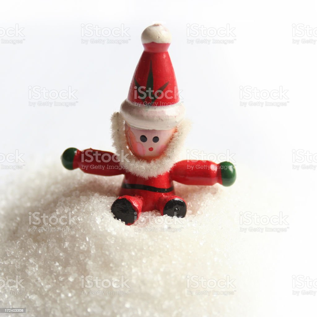 White Christmas royalty-free stock photo
