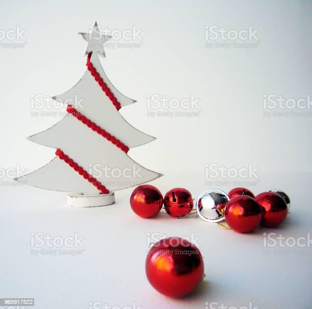 White Christmas Stock Photo - Download Image Now