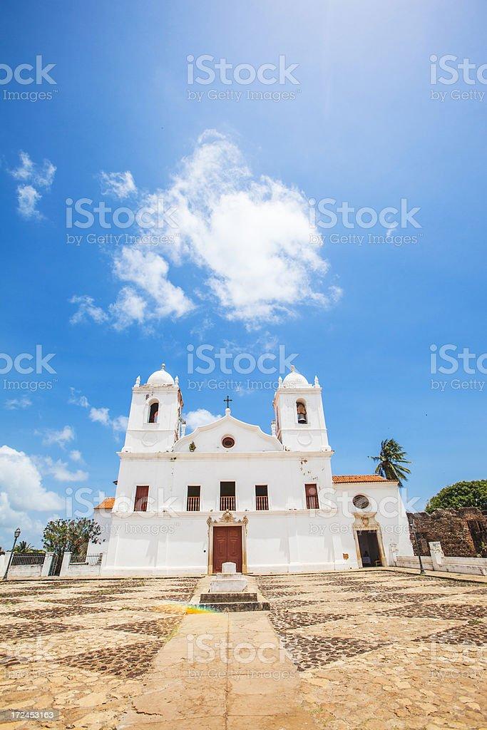 White church. stock photo