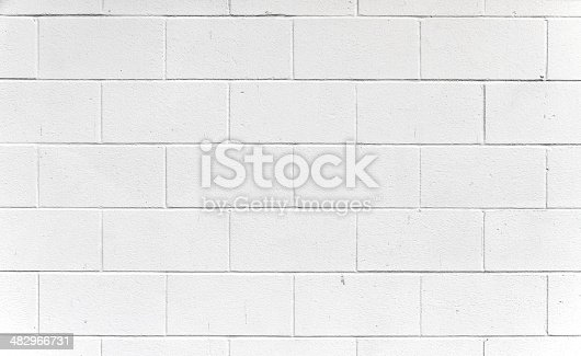 A white block wall. Creates an excellent texture, simply use the