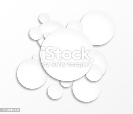 istock White circles infographic 529398008