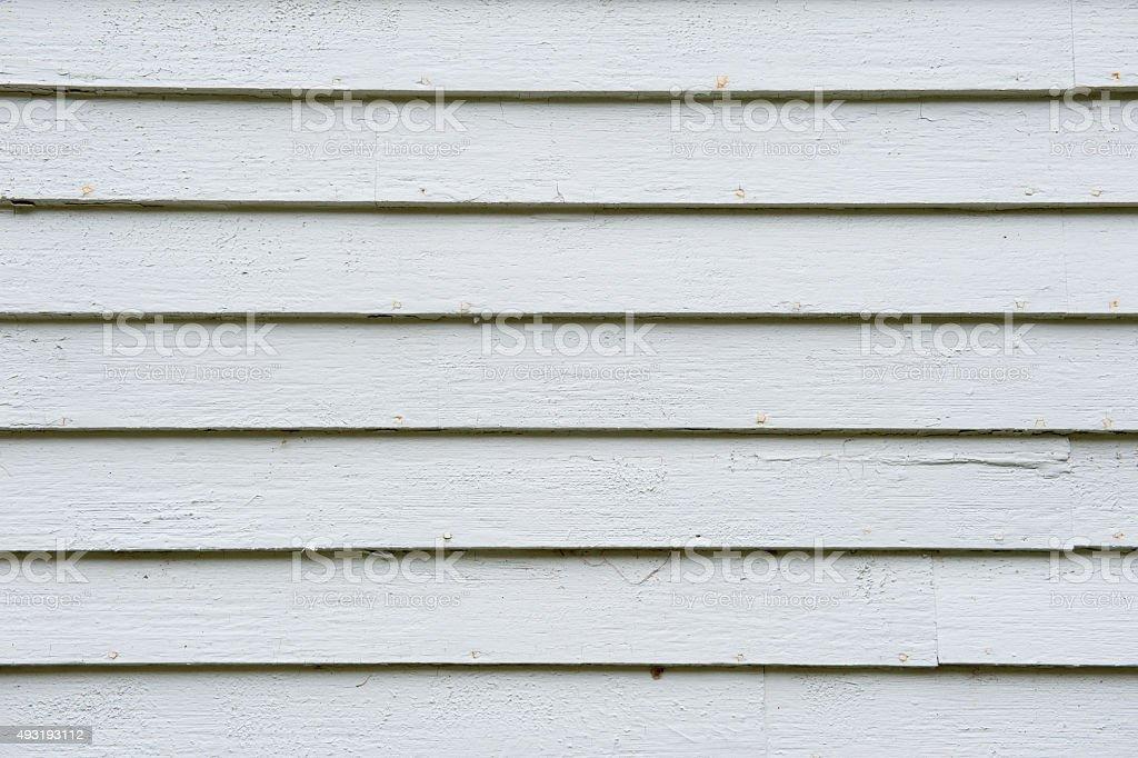 Blanches à bardeaux siding - Photo
