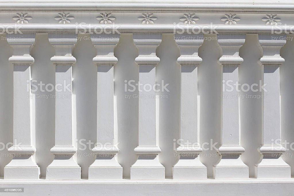 White Classic Column royalty-free stock photo