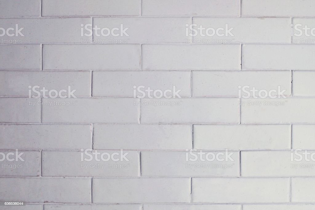 White Clean Ceramic Brick Tile Wall Texture Background Stock Photo Download Image Now