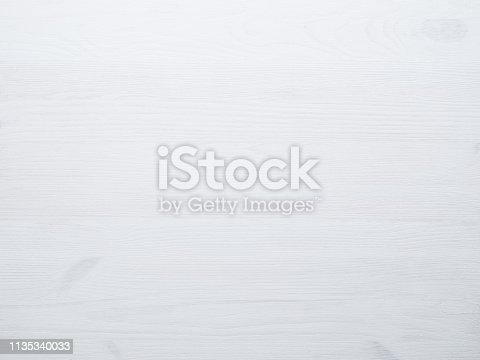 White clean wooden background