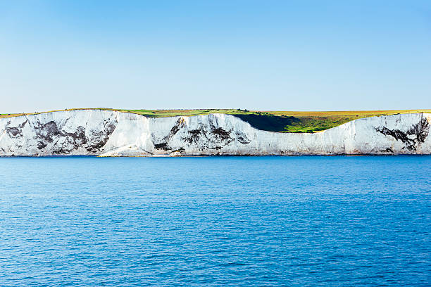 white cliffs of dover, uk - english channel stock pictures, royalty-free photos & images