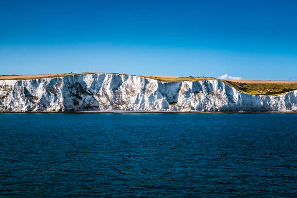 White Cliffs of Dover, UK stock photo