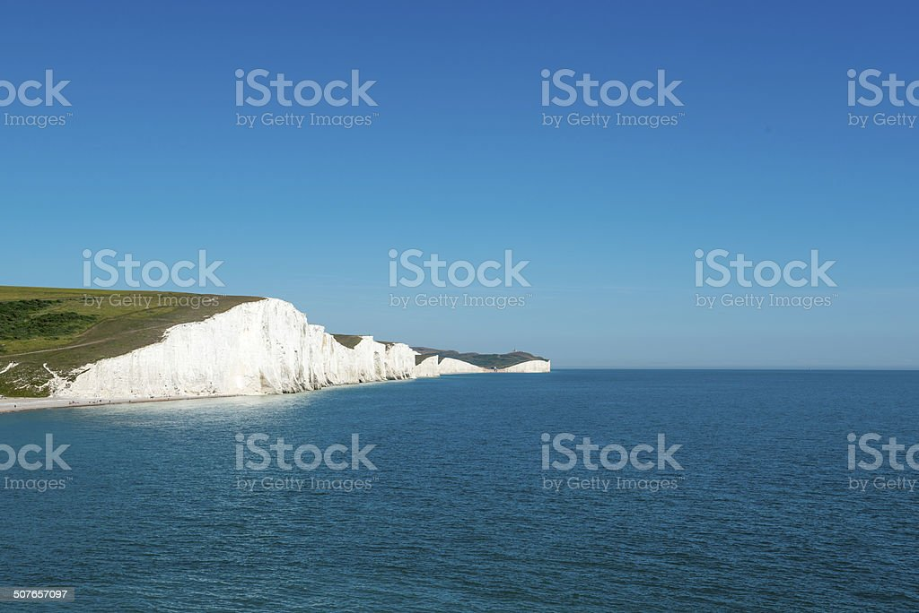 White Cliffs stock photo