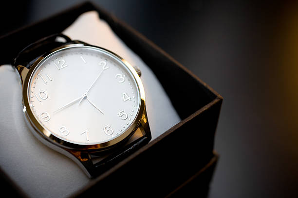 White clock  luxury watch stock pictures, royalty-free photos & images