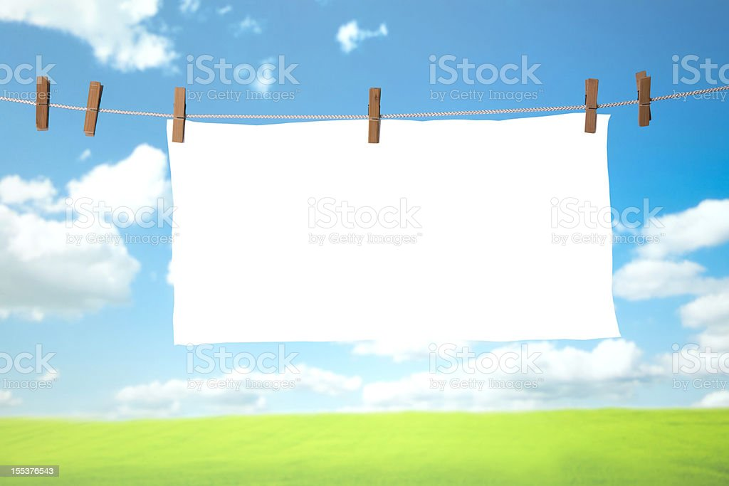white cloth royalty-free stock photo