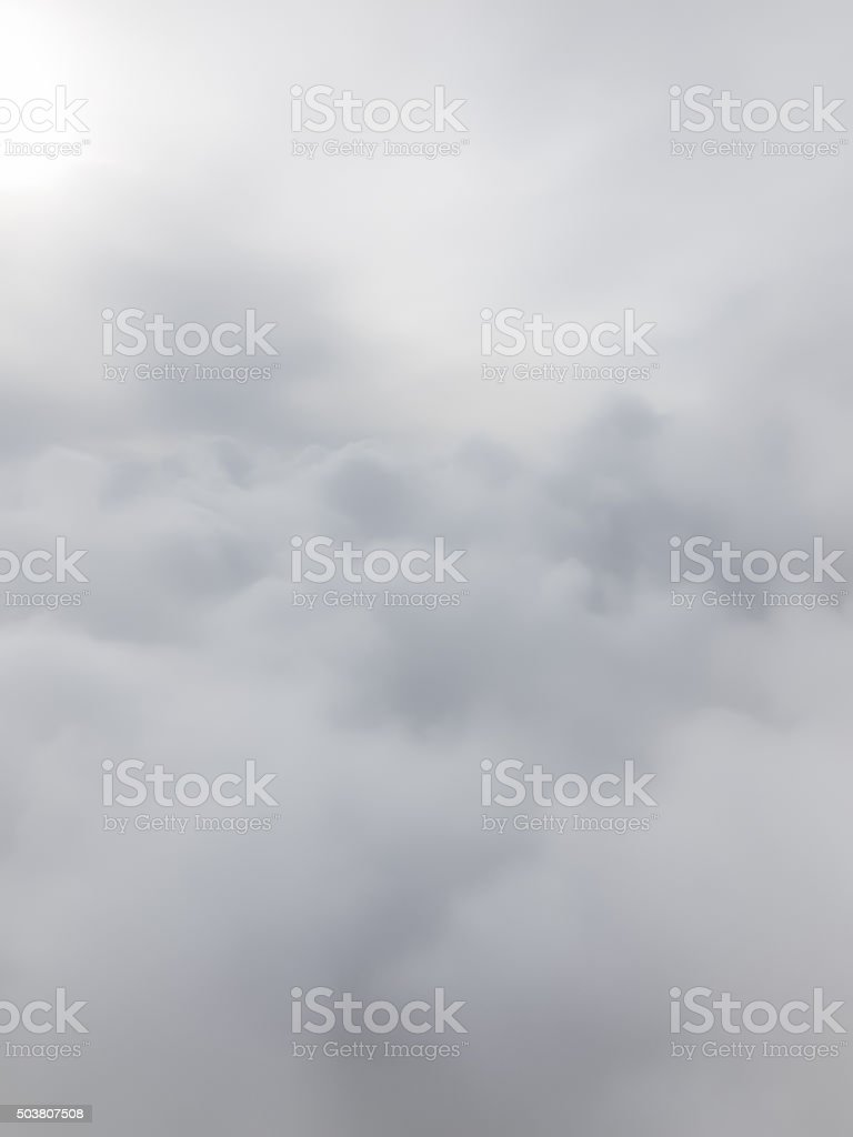 White Cloud Background stock photo