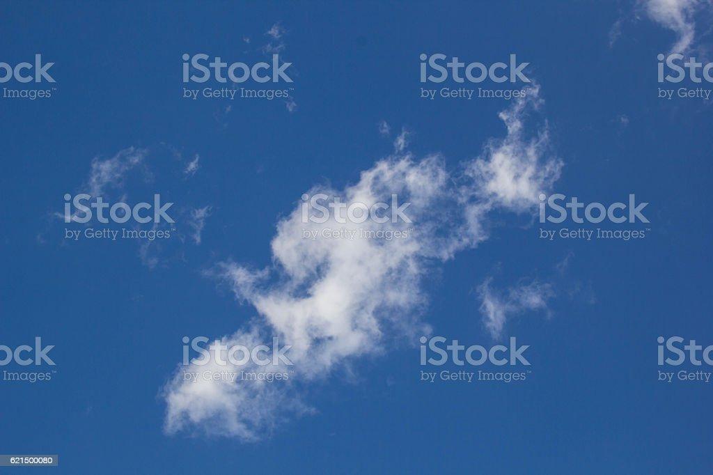 Weiße Wolken im blauen Himmel  Lizenzfreies stock-foto