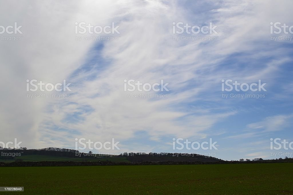 White Cloud. stock photo