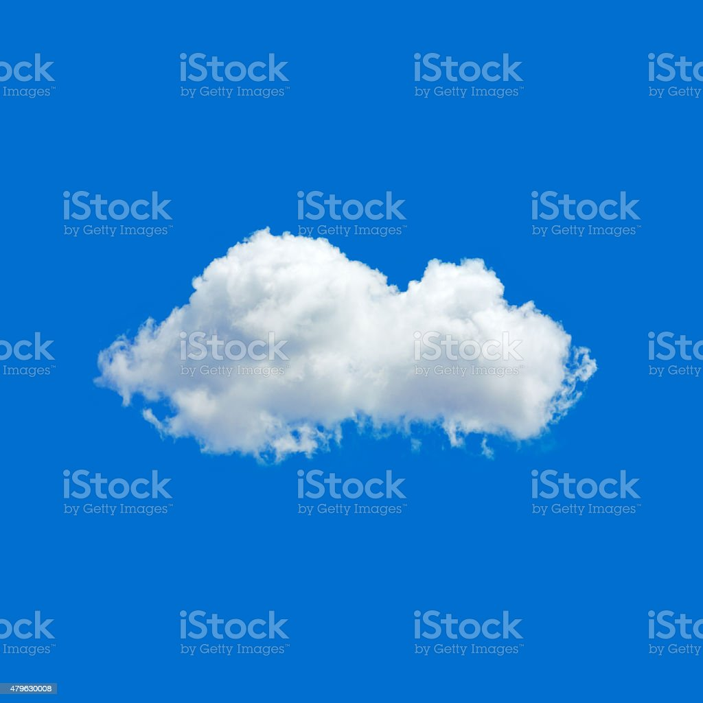 White cloud stock photo