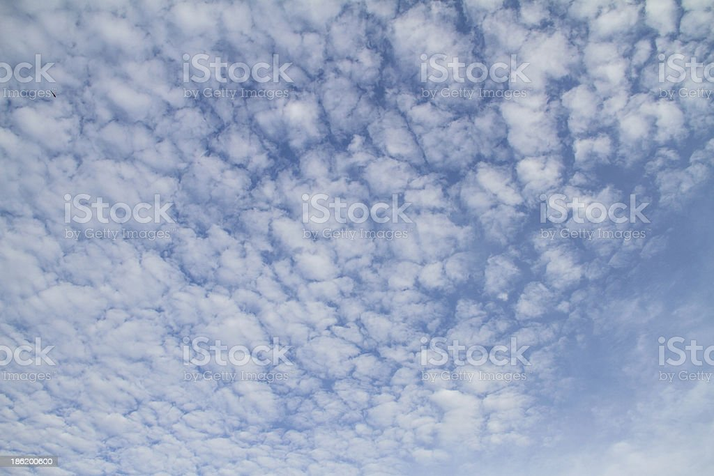 White cloud with blue sky royalty-free stock photo