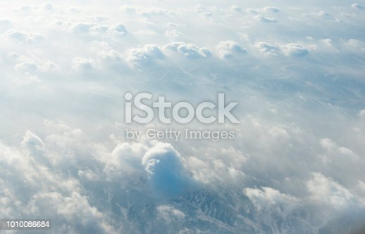 istock White clouds background 1010086684