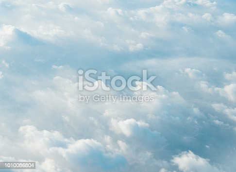 istock White clouds background 1010086804