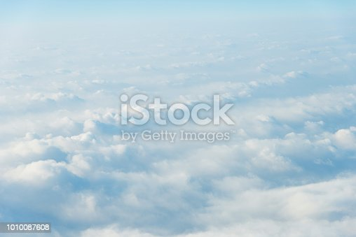 istock White clouds background 1010087608