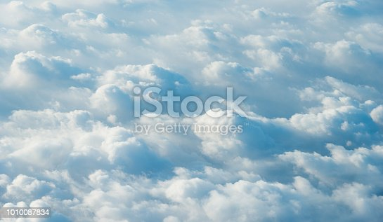 istock White clouds background 1010087834