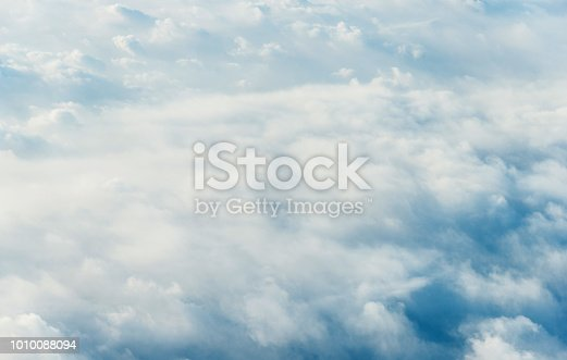 istock White clouds background 1010088094