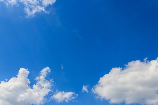 White Clouds In Blue Sky Stock Photo - Download Image Now