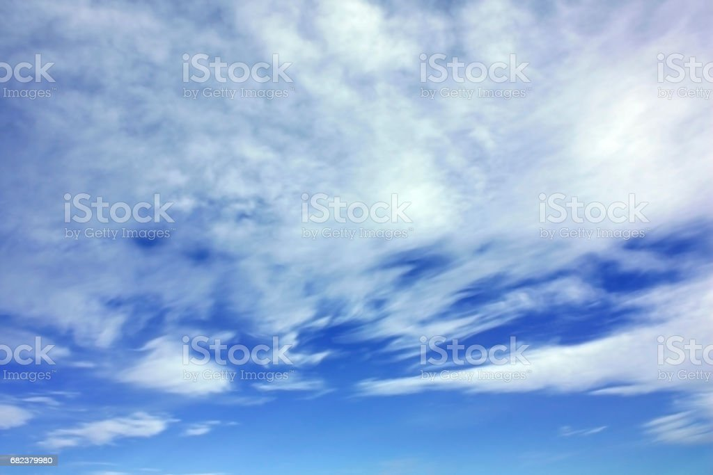 White clouds over blue sky royalty-free stock photo
