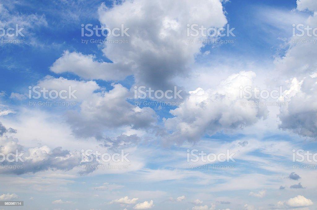 인명별 구름 royalty-free 스톡 사진