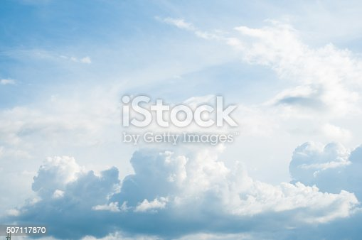 istock White Cloudy sky 507117870