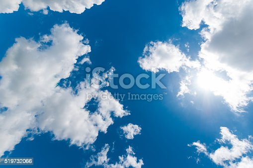 istock White Cloudy sky 519732066
