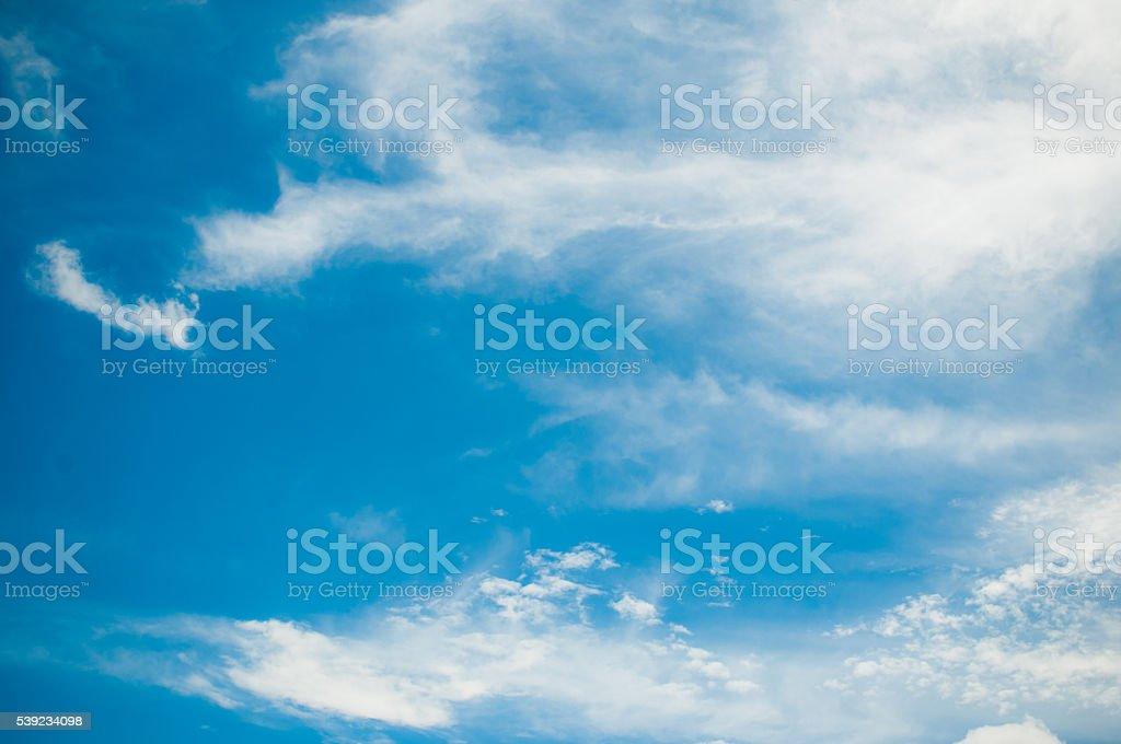Blanco cielo nublado foto de stock libre de derechos
