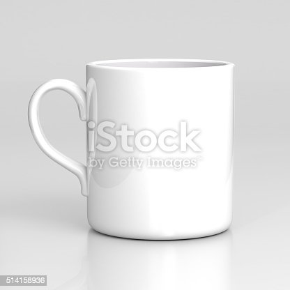 istock White coffee mug 514158936