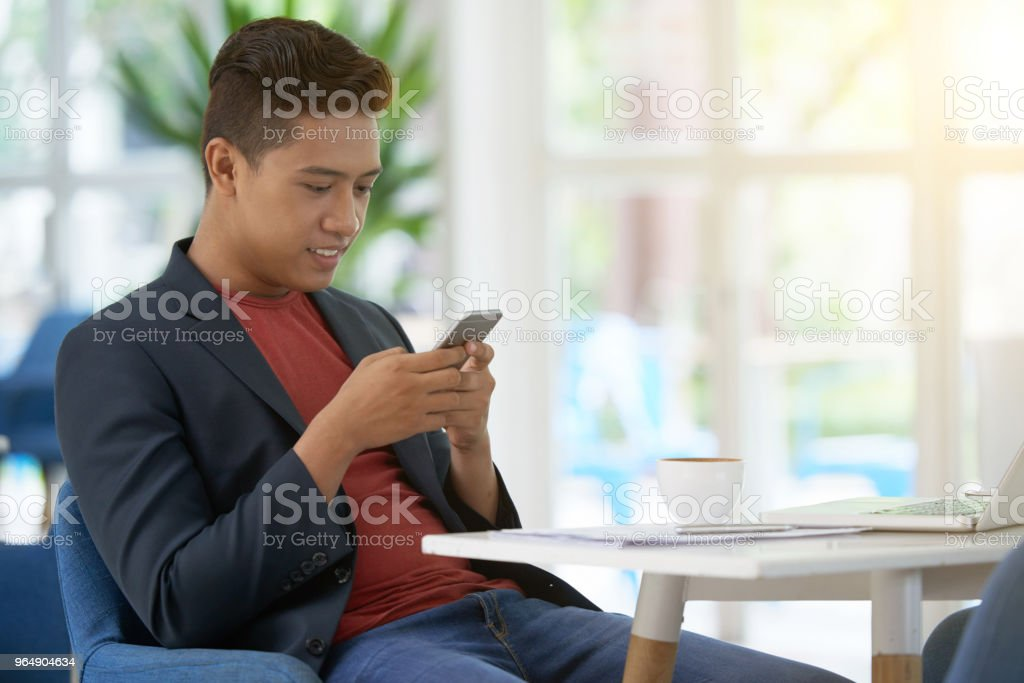 白領工人休息咖啡 - 免版稅互聯網圖庫照片