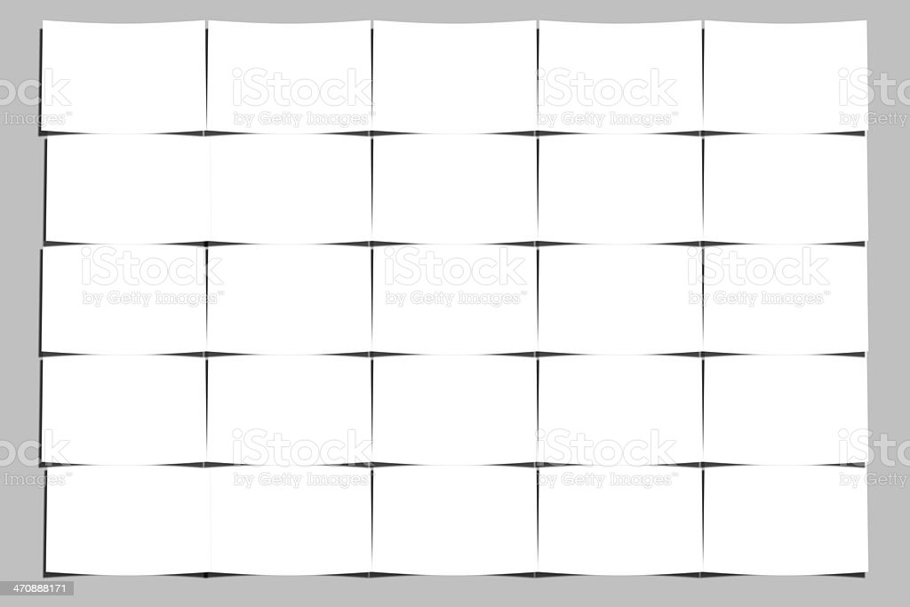 White color Image Puzzle royalty-free stock photo