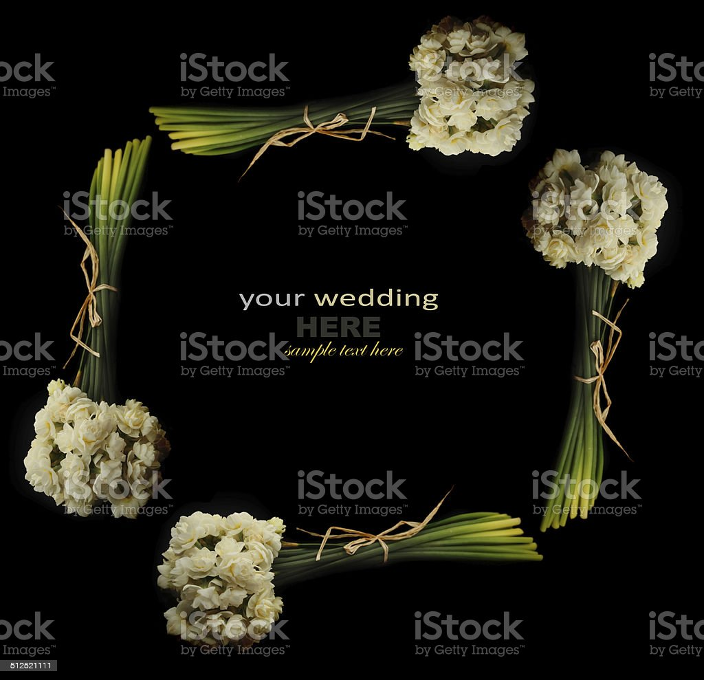 White Colored Erlicheer Daffodil Or Daffodil Flowers Stock Photo