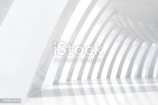 694008266istockphoto White columns in empty space forming an architectural pattern 470314478