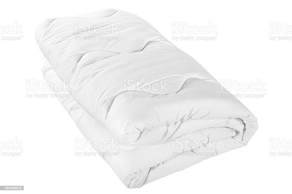 Weiße Bettdecke – Foto
