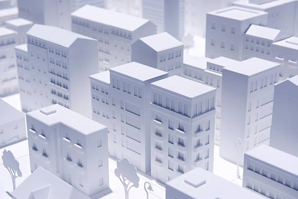 モデル都市 - 模型 ストックフォトと画像