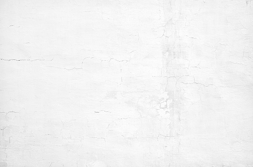 White concrete old grunge wall texture background
