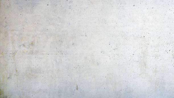 Weißer Beton oder Zement Wand – Foto
