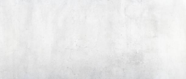 Weißer Beton Wand Hintergrund – Foto