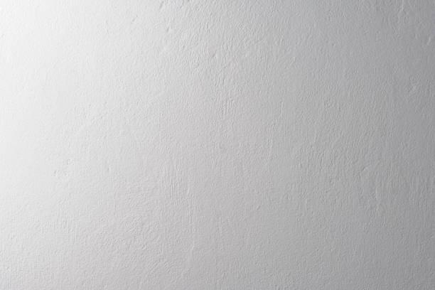 ホワイトテクスチャ背景のコンクリートの壁の - 壁 ストックフォトと画像